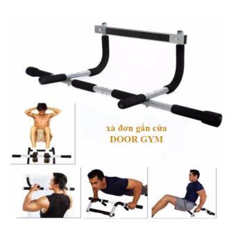 Dụng cụ tập thể hình tại nhà - Xà đơn Door Gym (Đen).