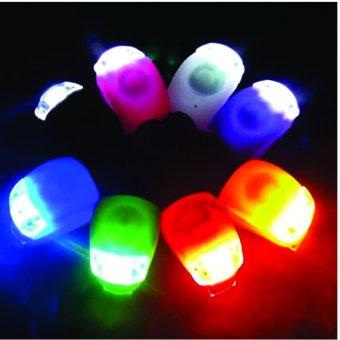 Bộ 2 đèn led xe đạp có 3 chế độ phát tín hiệu 2 LEDS LIGHT SET HJ008-2