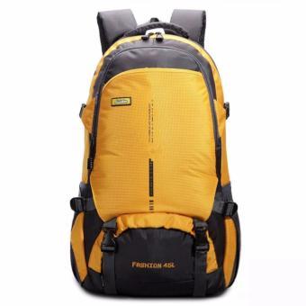 Balo đi phượt ,leo núi 45L siêu nhẹ siêu chịu nước chống rạch thời trang K-fashion ( Yellow)