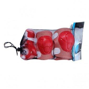 Bộ bảo vệ tay chân cho bé chơi thể thao (Đỏ)