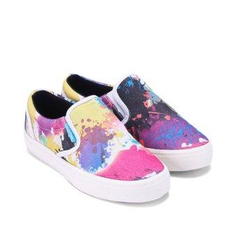 Giày lười nữ in họa tiết QuickFree W130210-004