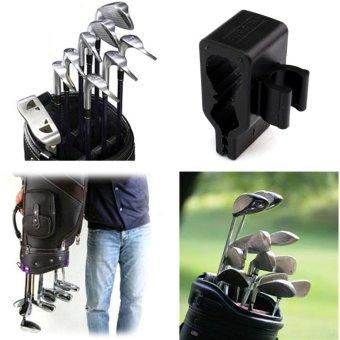14pcs Golf Bag Club Organizer Clip Holder Set For All Wedge Iron Driver Putter - intl