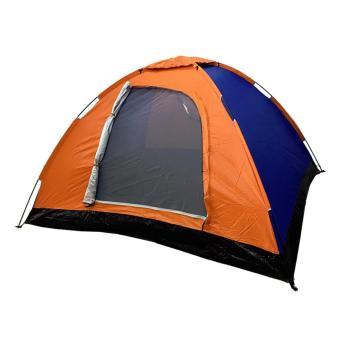 Lều cắm trại 4 người với túi đeo (Cam)