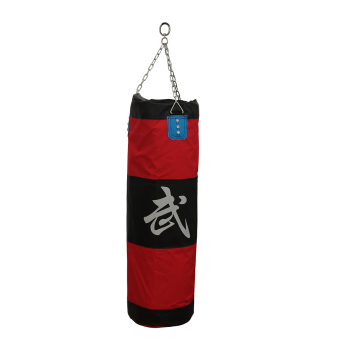 Thai Karate Boxing Punching Punch Kick Padded Bag + Chain Accessory Set - Intl