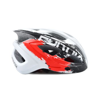 Mũ bảo hiểm đi xe đạp Fornix A02N030M(Trắng phối đỏ)