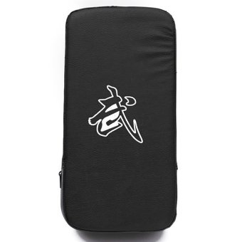 Boxing Training Kick Thai Strike Curved Arm Punching Black Shield Feet Target - intl