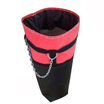 Vỏ bao cát đấm bốc cao 110cm ( Đen phối đỏ, xanh )