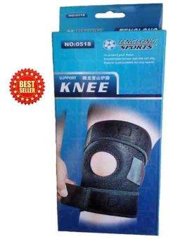 Băng Gối Khớp Gối Dán Knee Support 0518 (Đen)