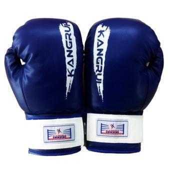 Găng tay boxing Kangrui cao cấp (xanh)