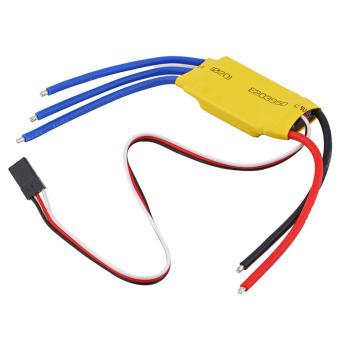 30A Brushless Motor Speed Controller RC BEC ESC Helicopter Boat DX - intl