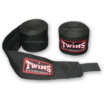 Băng đa quấn tay Twins Kick Boxing Muay MMA (Đen).
