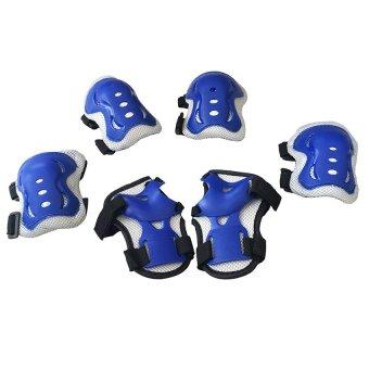 Bộ 6 miếng bảo vệ tay và chân cho bé (Xanh)