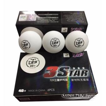 Quả bóng bàn không mối nối 729-3* 40+