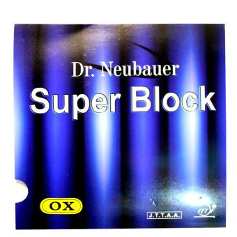 Mút bóng bàn Dr. NEUBAUER Super Block - Siêu gai phòng thủ ( Đỏ ).