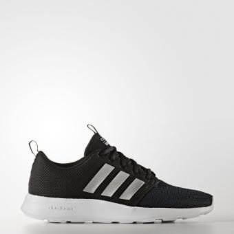 Giày chạy bộ nam Adidas FOOTWEAR CLOUDFOAM SWIFT RACER AW4154 (Đen)