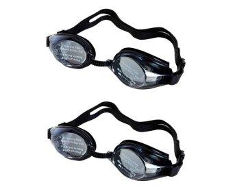 Bộ 2 kính bơi Balance (Đen)