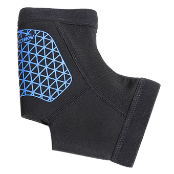 BolehDeals Breathable Ankle Support Foot Brace Shin Protector Sport Running Sock Blue M - Intl