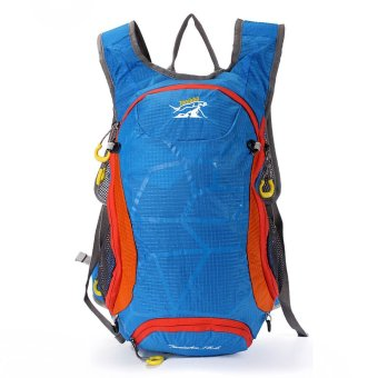 15L Blue Outdoor Hiking Cycling Backpack Hydration Pack Climb Water Bladder Rucksack - intl
