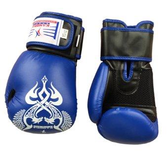 Găng tay boxing đấm bốc cho dân nhà nghề (xanh)