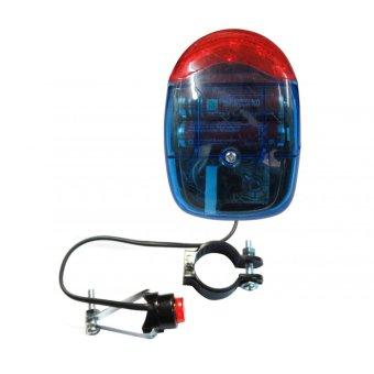 Kèn điện tử 7 âm thanh + 5 led XC-200A gắn xe đạp