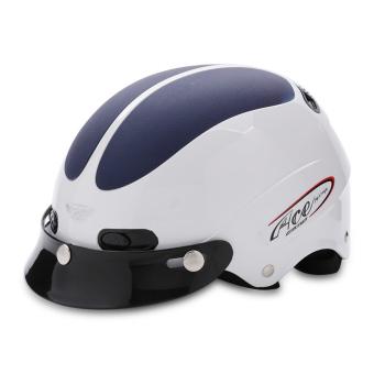 Nón bảo hiểm nửa đầu ACE - AN01 (Trắng xanh đậm)