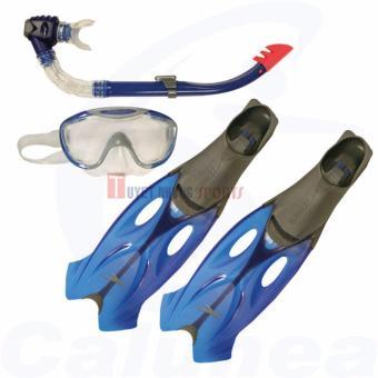 Bộ lặn Speedo 1 kính bơi + 1 chân vịt + 1 ống thở Glide S116 người lớn (Size 39/40)