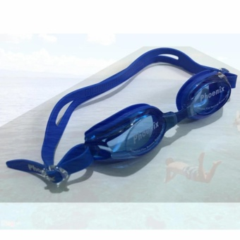 Kính bơi Phoenix Hàn Quốc PN 401 màu xanh
