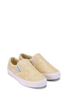 Giày lười nữ QuickFree W130210-005 (Vàng)