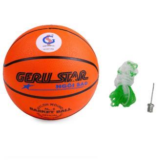 Quả bóng rổ cao su gerustar số 6