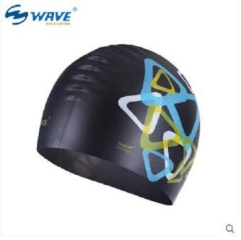 Mũ Bơi Người Lớn SC02P (Đen)