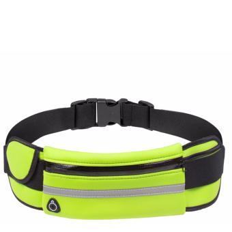 Túi đai đeo bụng chống nước có dải phát quang BT99.103 (Xanh lá).