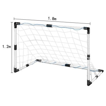 Football Soccer Goal Post Net Outdoor Sport Training Practice Tool 1.8*1.2M (Intl)