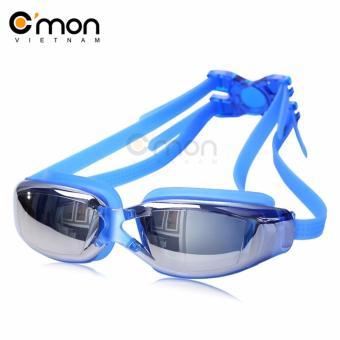 Kinh bơi tráng gương chống sương và tia UV C'MON SG01X (Xanh)