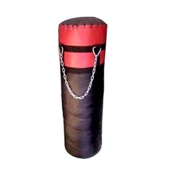 Bao cát đấm bốc Nguyễn Đăng Sport 100cm (Đen Đỏ)