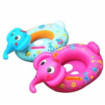 Phao bơi cho bé hình con voi (Xanh)