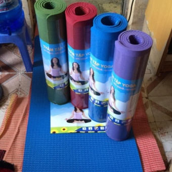 Thảm tập yoga made in Việt Nam loại 1