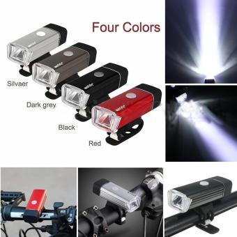 Đèn Pin LED trên xe đạp kèm đế kẹp hiện đại