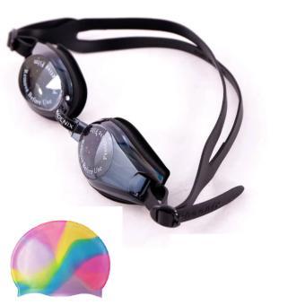 Bộ Combo kính bơi Phoenix 203 + Tặng Mũ bơi CIMA 100% Silocol