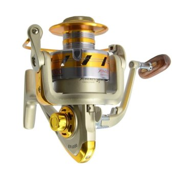 Ratio 5.5:1 Aluminum Spool Spinning Reel 10BB EF6000 Series Fishing Reels - INTL