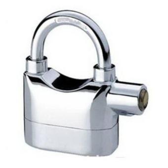 Ổ Khóa báo động chống trộm Padlock with alarm LK325 (bạc)