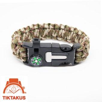 Vòng tay sinh tồn Paracord ( Camo) 07 - Tiktakus