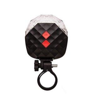 Đèn hậu laze 5 chế độ sáng cho xe đạp (Đỏ)
