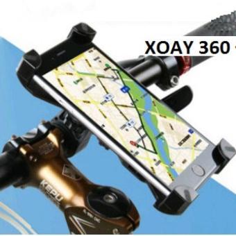 Kẹp Giữ Điện Thoại Gắn Tay Lái Xe Đạp Và Mô Tô Universal Bike Holder Loại 1 H140 (Đen)