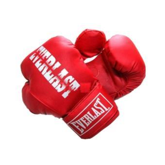 Găng đấm boxing Everlast phucthanhsport (Đỏ)