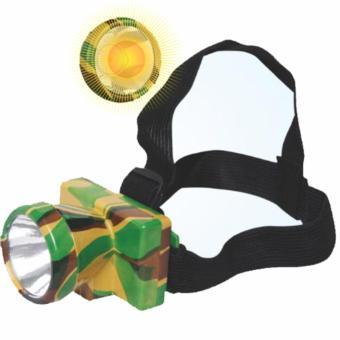 Đèn đội đầu pin sạc siêu xa siêu sáng mini