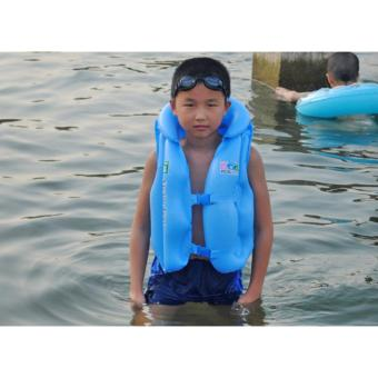 Áo bơi Swim west ( Xanh) cho bé từ (4-12 tuổi) size M