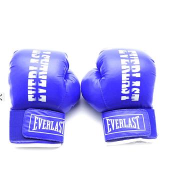 Găng tay đấm boxing trẻ em phucthanhsport (Xanh)