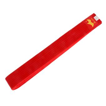 BolehDeals Cotton Felt Core Martial Arts Colored TKD Taekwondo Belt 280cm Red - intl