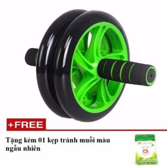Máy tập cơ bụng bánh xe AB tặng ngay kẹp tránh muỗi