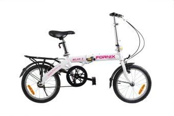 Xe đạp gấp hiệu FORNIX, mã MILAN 2 (Trắng)